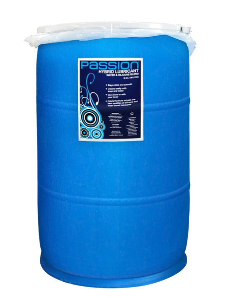 Passion Water and Silicone Blend Hybrid Lubricant - 55 Gallon - TFA
