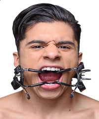 Ratchet Style Jennings Mouth Gag with Strap - THE FETISH ACADEMY