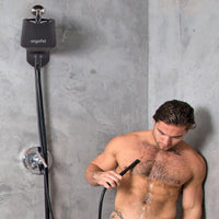 Ergoflo Pro Silicone Shower and Travel Anal Douche - THE FETISH ACADEMY