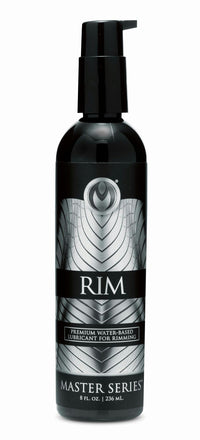 Rim Premium Water Based Lubricant for Rimming - 8oz - THE FETISH ACADEMY