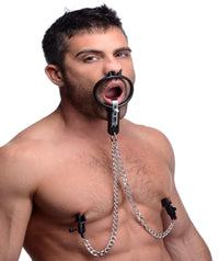 Degraded Mouth Spreader with Nipple Clamps - TFA