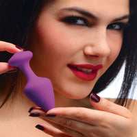 Purple Pleasures 3 Piece Silicone Anal Plugs - THE FETISH ACADEMY