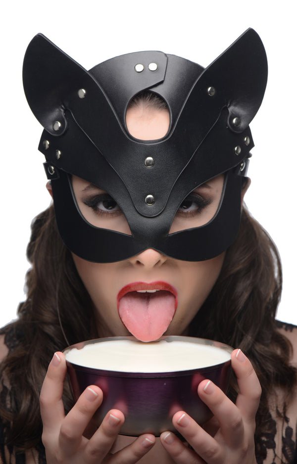 Naughty Kitty Cat Mask - THE FETISH ACADEMY