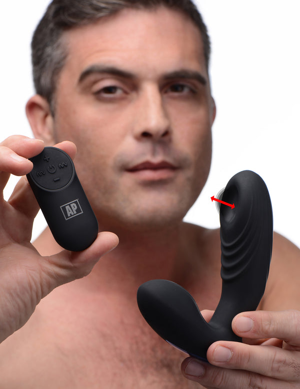 7X P-Thump Tapping Prostate Stimulator - THE FETISH ACADEMY