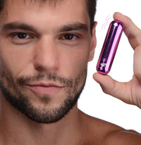 10X Rechargeable Vibrating Metallic Bullet - TFA