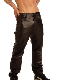 Mens Leather Pants - THE FETISH ACADEMY
