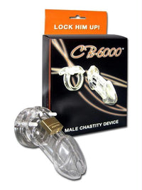 CB-6000 Male Chastity Device - THE FETISH ACADEMY