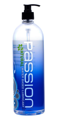 Passion Natural Water-Based Lubricant - THE FETISH ACADEMY