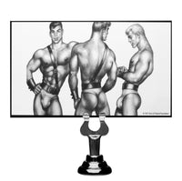 Tom of Finland Large Silicone Anal Plug - TFA