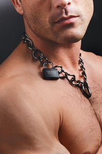 Tom of Finland Locking Chain Cuffs - THE FETISH ACADEMY