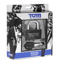 Tom of Finland Metal Lock - THE FETISH ACADEMY