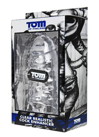 Tom of Finland Clear Realistic Cock Enhancer - THE FETISH ACADEMY