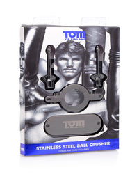 Tom of Finland Stainless Steel Ball Crusher - THE FETISH ACADEMY