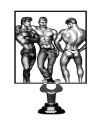 Tom of Finland 3 Piece Silicone Cock Ring Set - THE FETISH ACADEMY