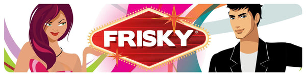 Frisky Display Sign - THE FETISH ACADEMY