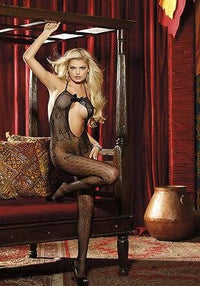 HOT Bodystocking Allover Lace (Black;One Size) Sexy Fashion - THE FETISH ACADEMY