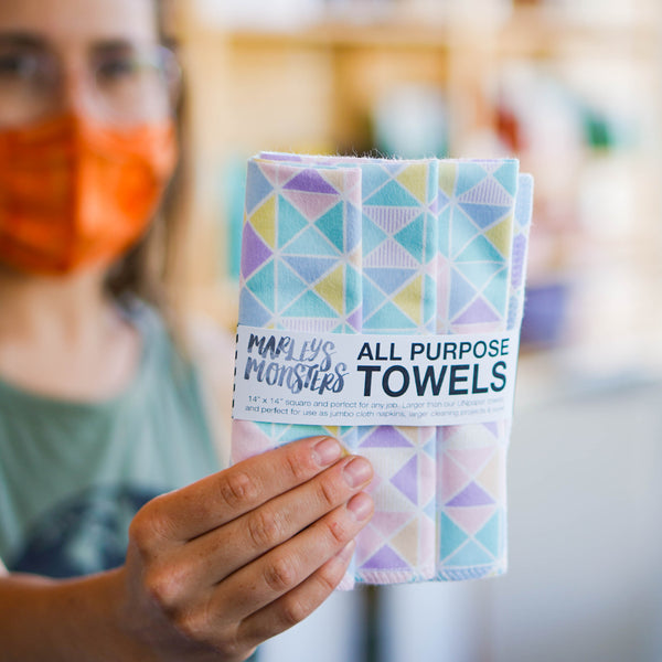 ALL-PURPOSE TOWELS