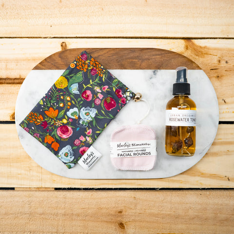 ROSEWATER TONER KIT: Holiday 2020
