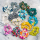 UPCYCLED SCRUNCHIES: Designer Cotton