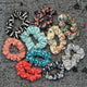 UPCYCLED SCRUNCHIES: Knit