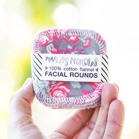 20 FACIAL ROUNDS: Vintage Roses