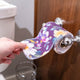 TOILET UNPAPER® ROLL: Purple Floral