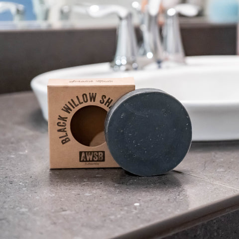 ORGANIC SHAVE SOAP: Black Willow