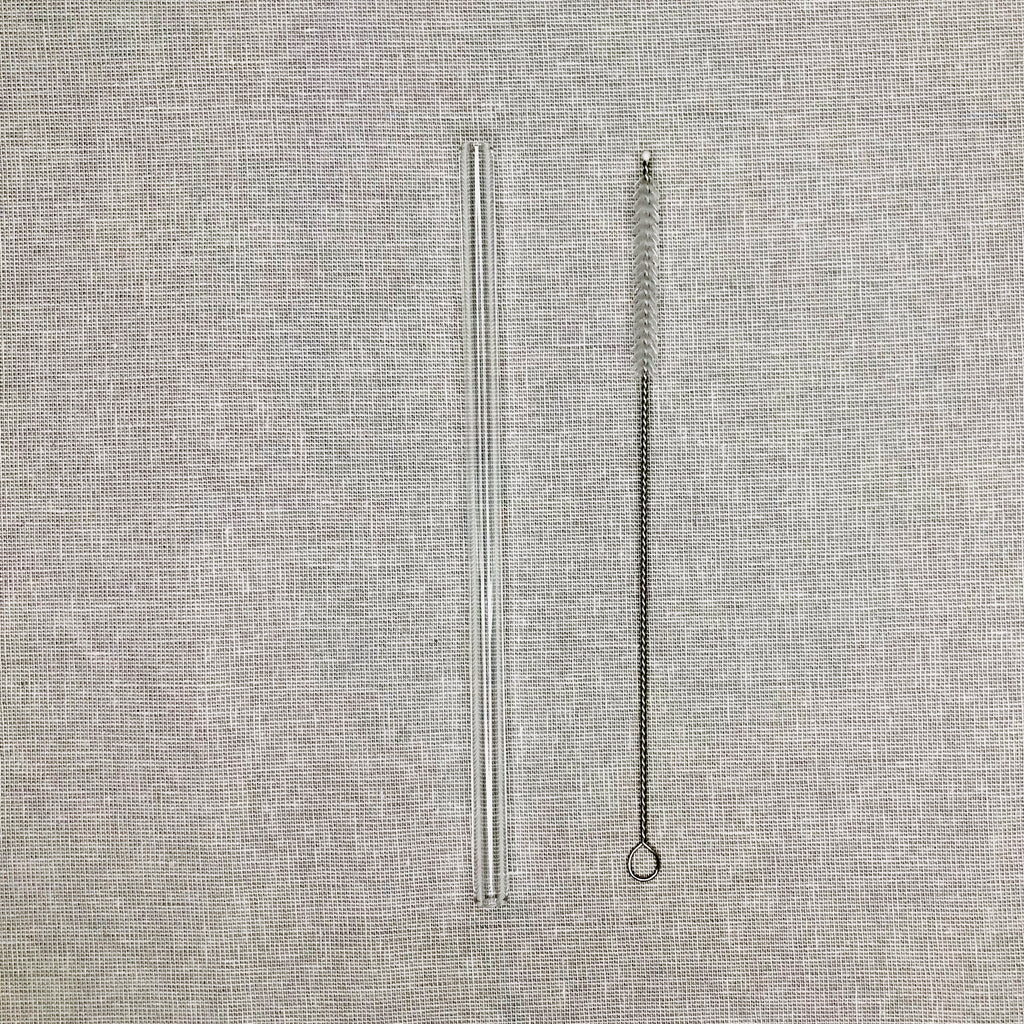 GLASS STRAW & CLEANER