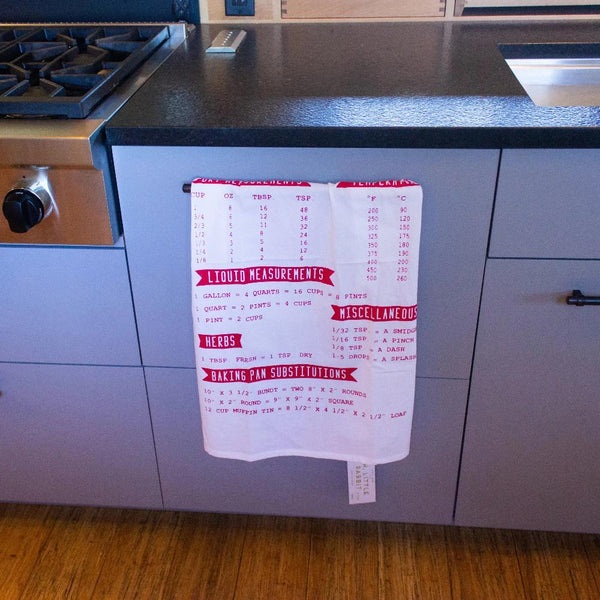 TEA TOWEL: Organic Cotton