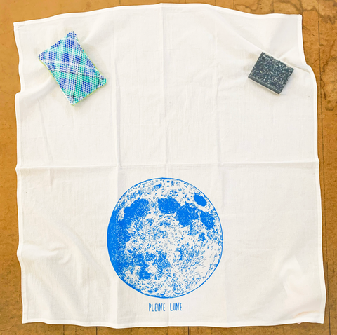 ORGANIC TEA TOWEL: Spring Edition