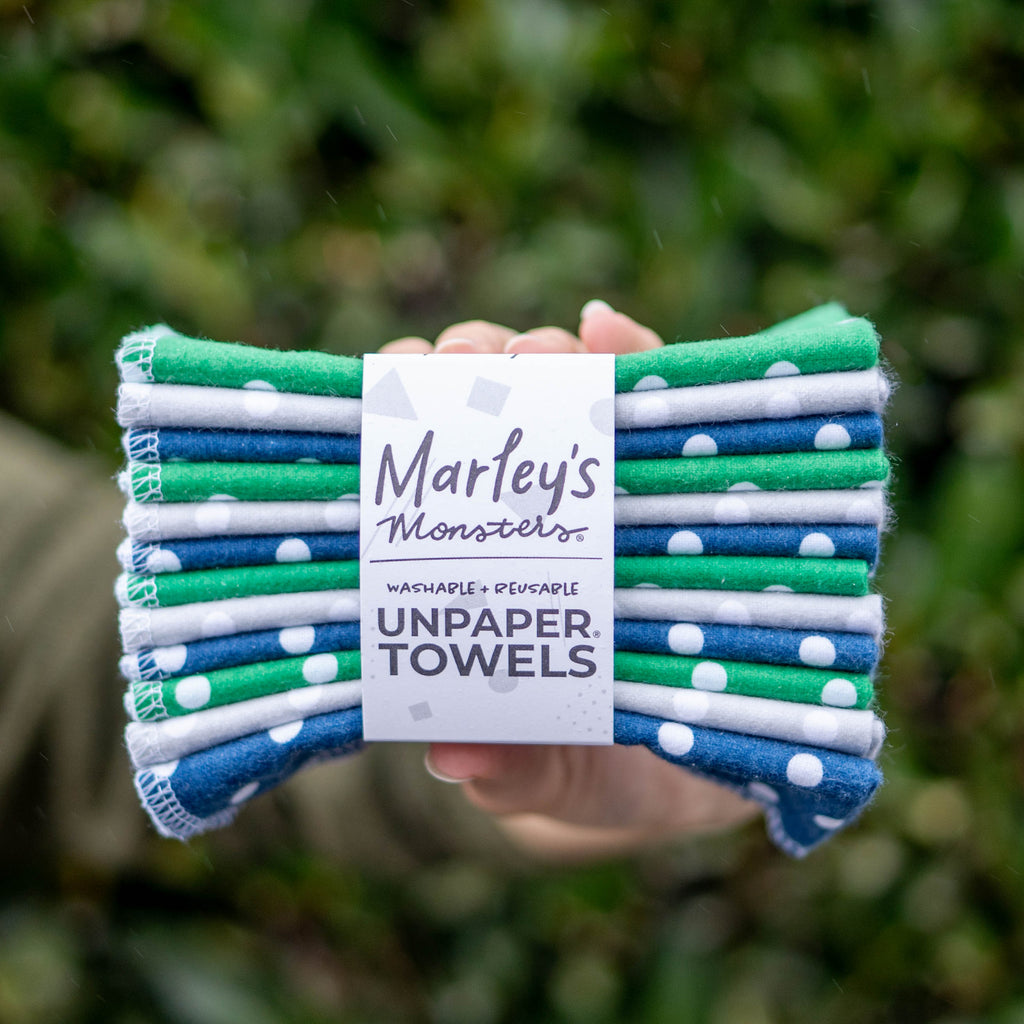 UNPAPER® TOWELS: Polka Dots