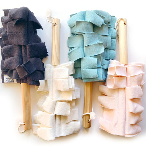 WASHABLE DUSTER: Organic Cotton Fleece