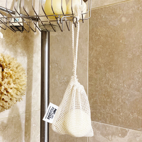 SOAP SAVER: Organic Cotton