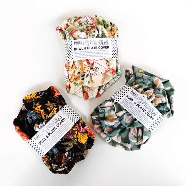 BOWL COVER BUNDLE: Cotton Floral - NEW COLORS!
