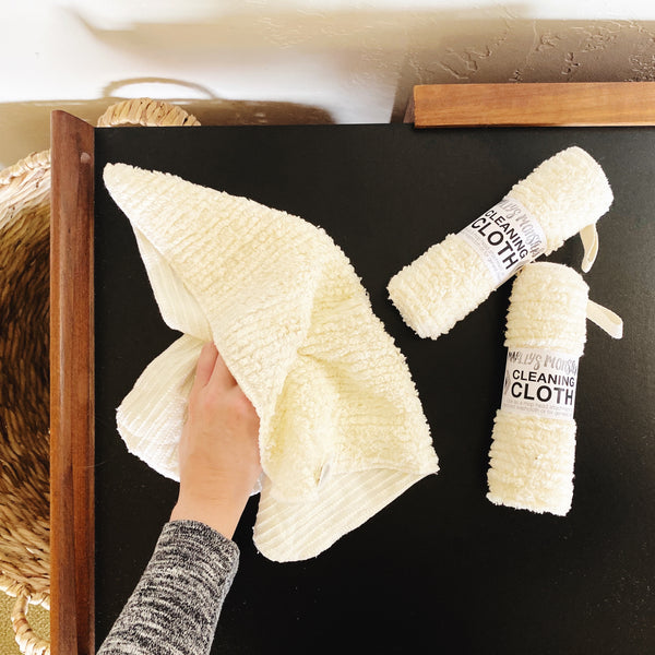 CLEANING CLOTH: Cotton Chenille