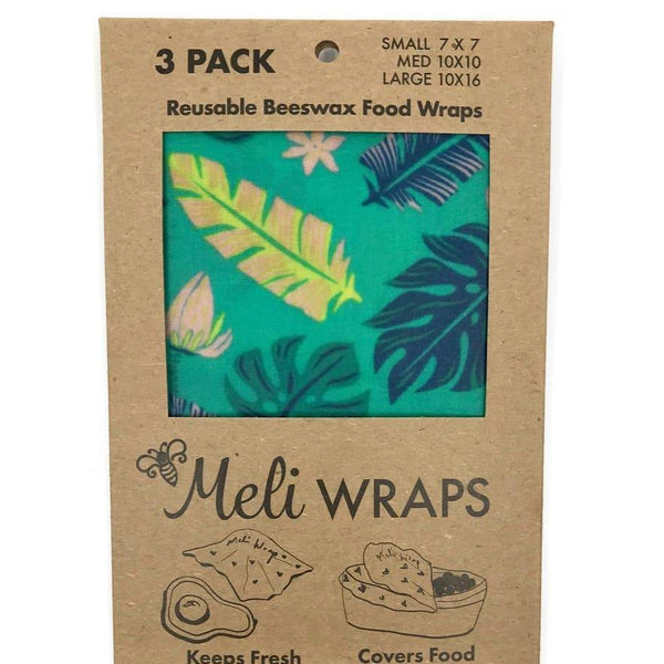 BEESWAX FOOD WRAP: Meli Prints