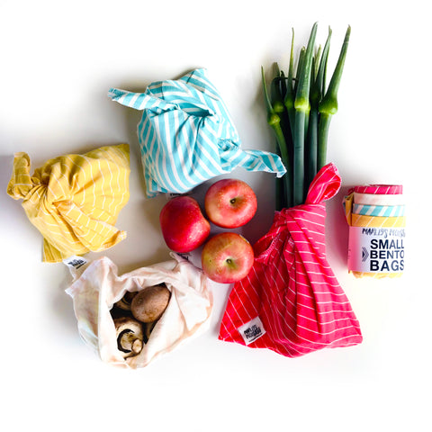 BENTO BAG BUNDLE: 4 Small Knit