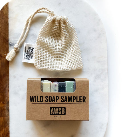 SOAP SAMPLER + SAVER SET