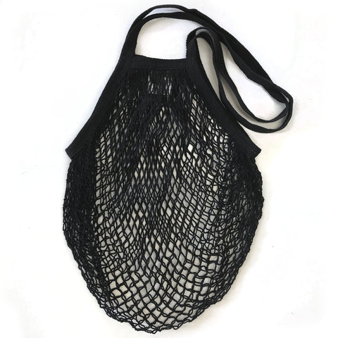 MARKET STRING BAG: Black