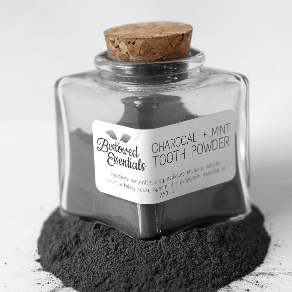TOOTH POWDER: Charcoal