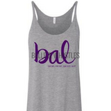 YAY SALE- Baltimore Tank Top