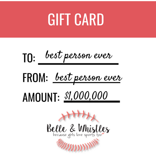 BELLE & WHISTLES GIFT CARD