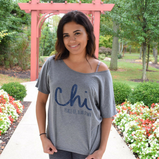 YAY SALE- Chicago Sports Fan Off-Shoulder Tee