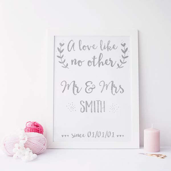 Personalised A Love Like No Other - PRINTS279