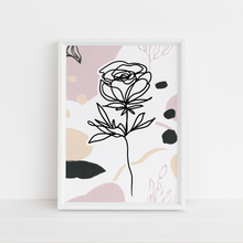 Load image into Gallery viewer, Abstract Rose