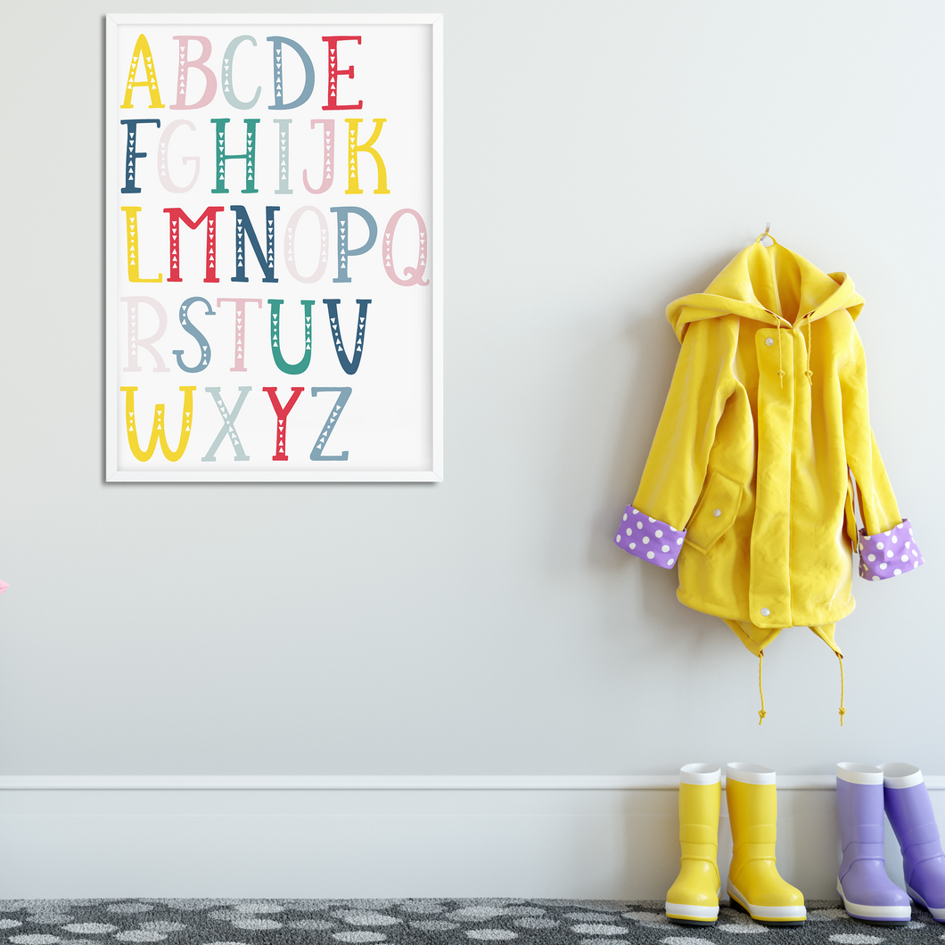 Alphabet Colours - PRINTS279