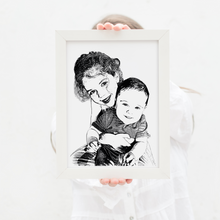 Load image into Gallery viewer, Personalised Children's Foil Photograph - PRINTS279