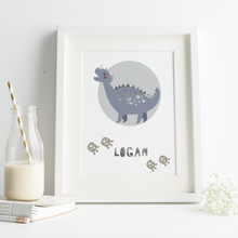Load image into Gallery viewer, Personalised Dinosaur - PRINTS279