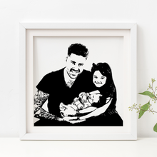 Load image into Gallery viewer, Personalised Foil Photograph - PRINTS279