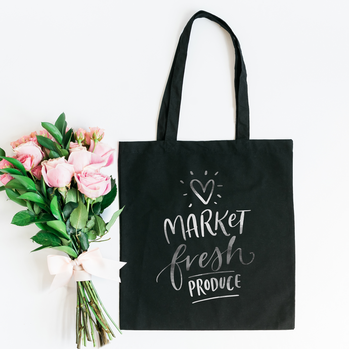Market Fresh Tote Bag